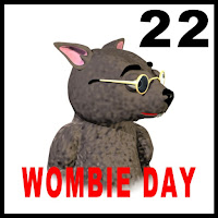 wombat day stamp-wombania binky image