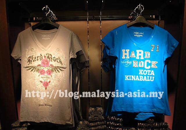 Hard Rock Cafe Kota Kinabalu T-Shirts