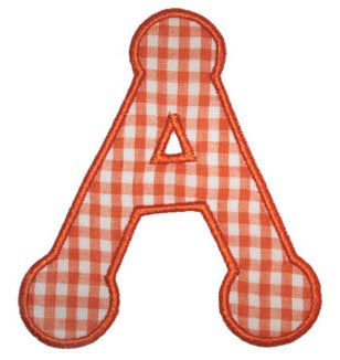 letter a alphabet applique on Etsy, a global handmade and