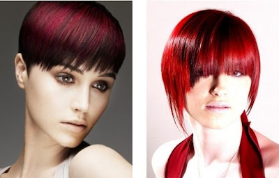 red hair color ideas for winter 2012