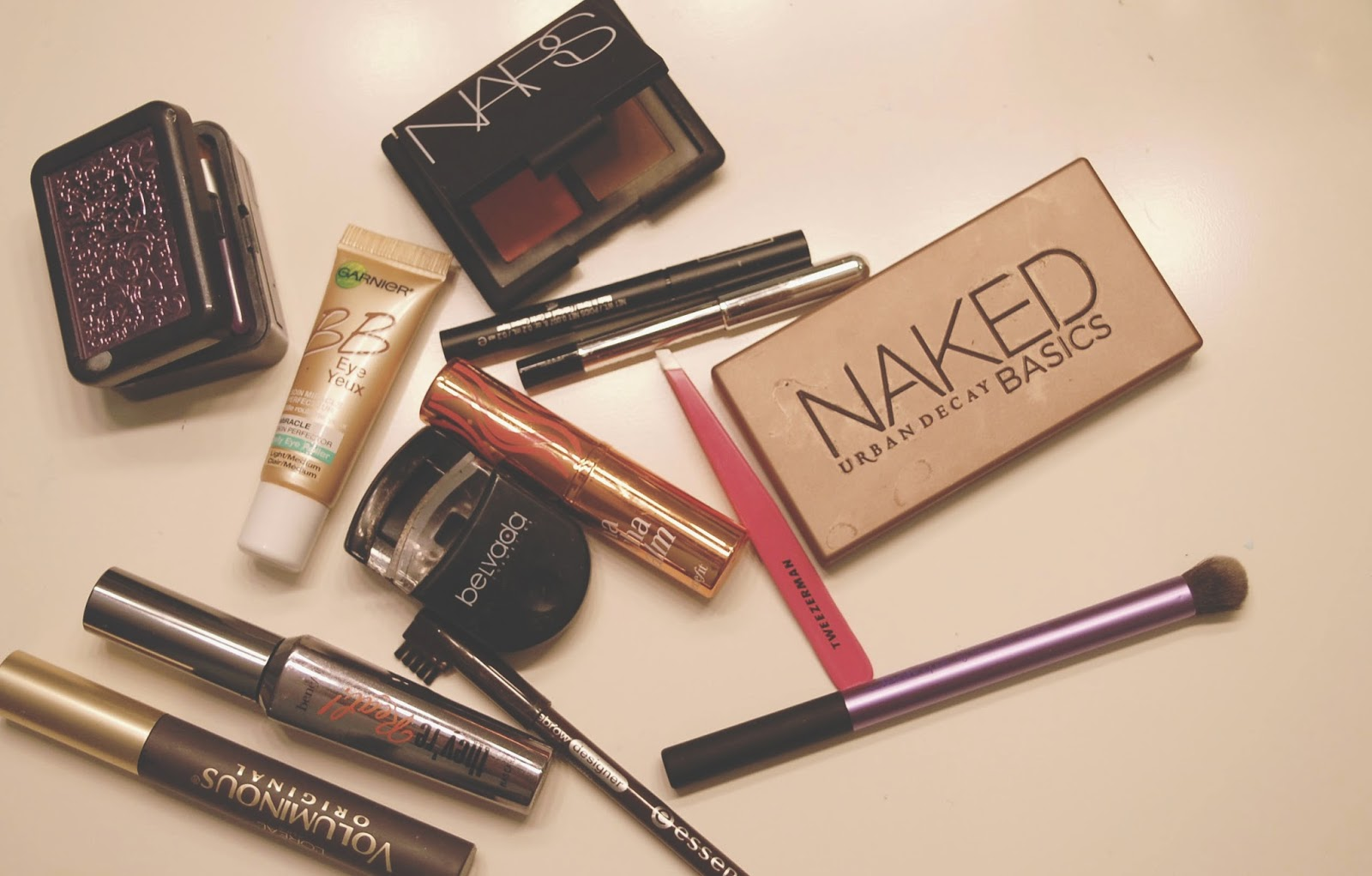 Favourite Makeup Urban Decay Nars Naked Palette Benefit Marc by Marc Jacobs