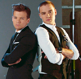 Photoshoot de Kiss you com Liam e Louis