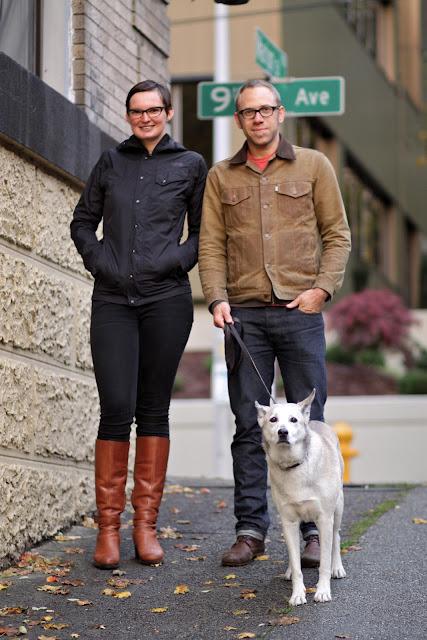 Kim Strang Andrew Francis Imstrang knitwear seattle street style fashion