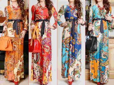 maxi dress korea kode 2694