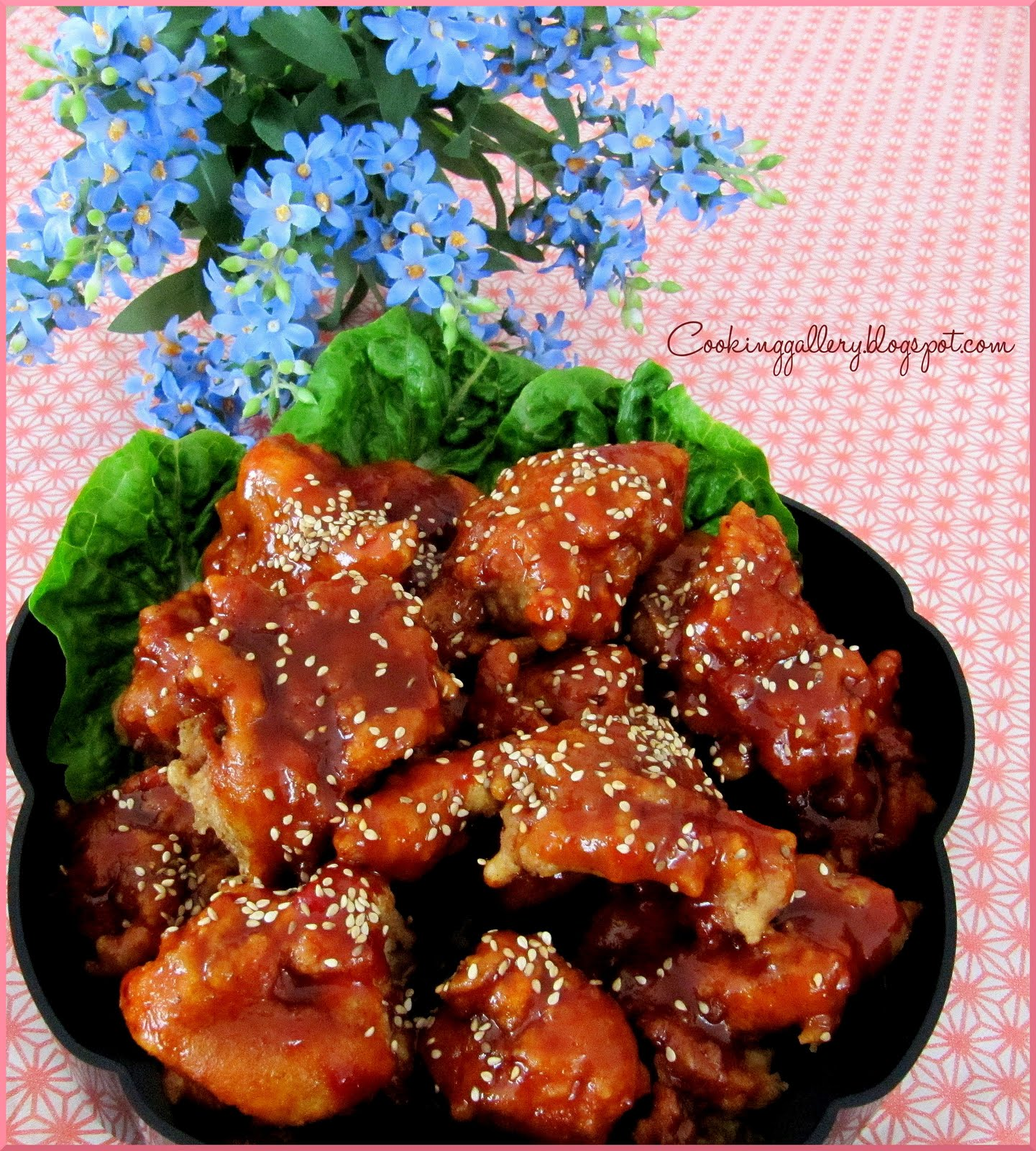 Korean Fried Chicken (Yangnyeom Chikin) Recipe — Dishmaps