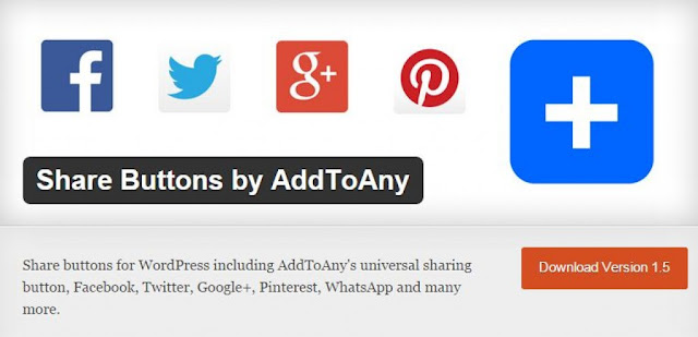 9 Must Have Wordpress Plugins in 2015 : AddToAny Featured image.