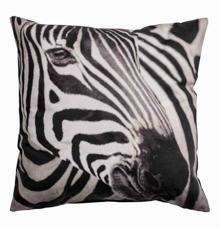 H&M Zebra cushion