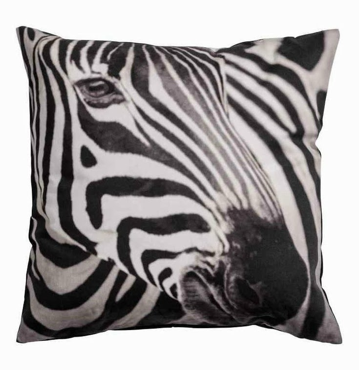 H&M Zebra cushion