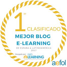 Premio Mejor blog de E-Learning de España y Latinoamérica 2017