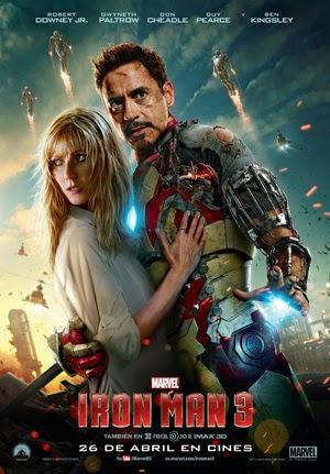 Poster Iron Man 3 2013