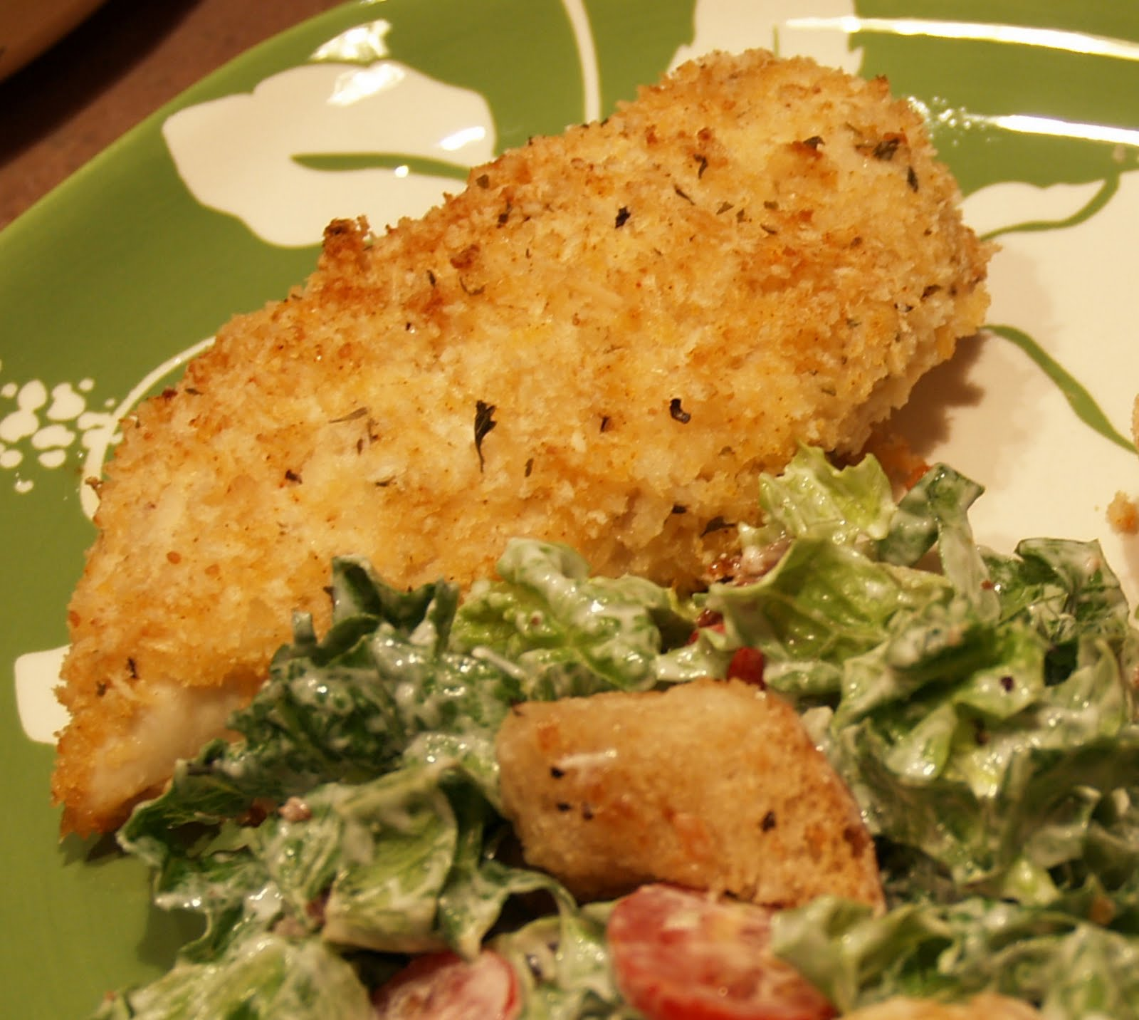 Parmesan Crusted Chicken Breasts My Kitchen Addictions