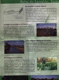 impreso Balsa de Larralde Torre Medina Zaragoza