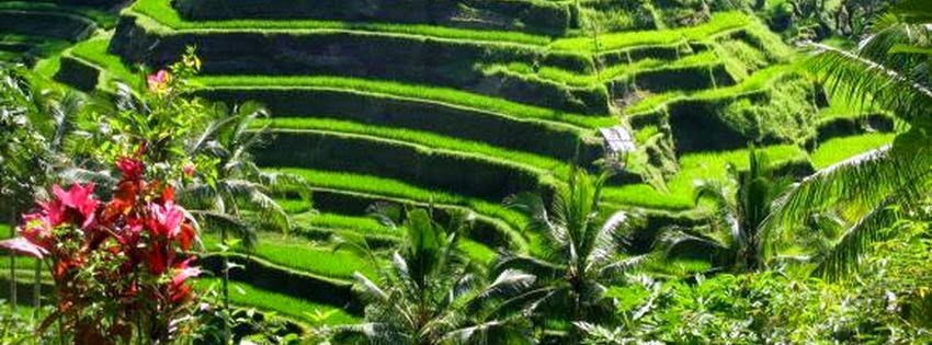 Belle couverture facebook Bali