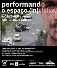 Em novembro de 2016 promovemos o Workshop com Gustavo Ciríaco