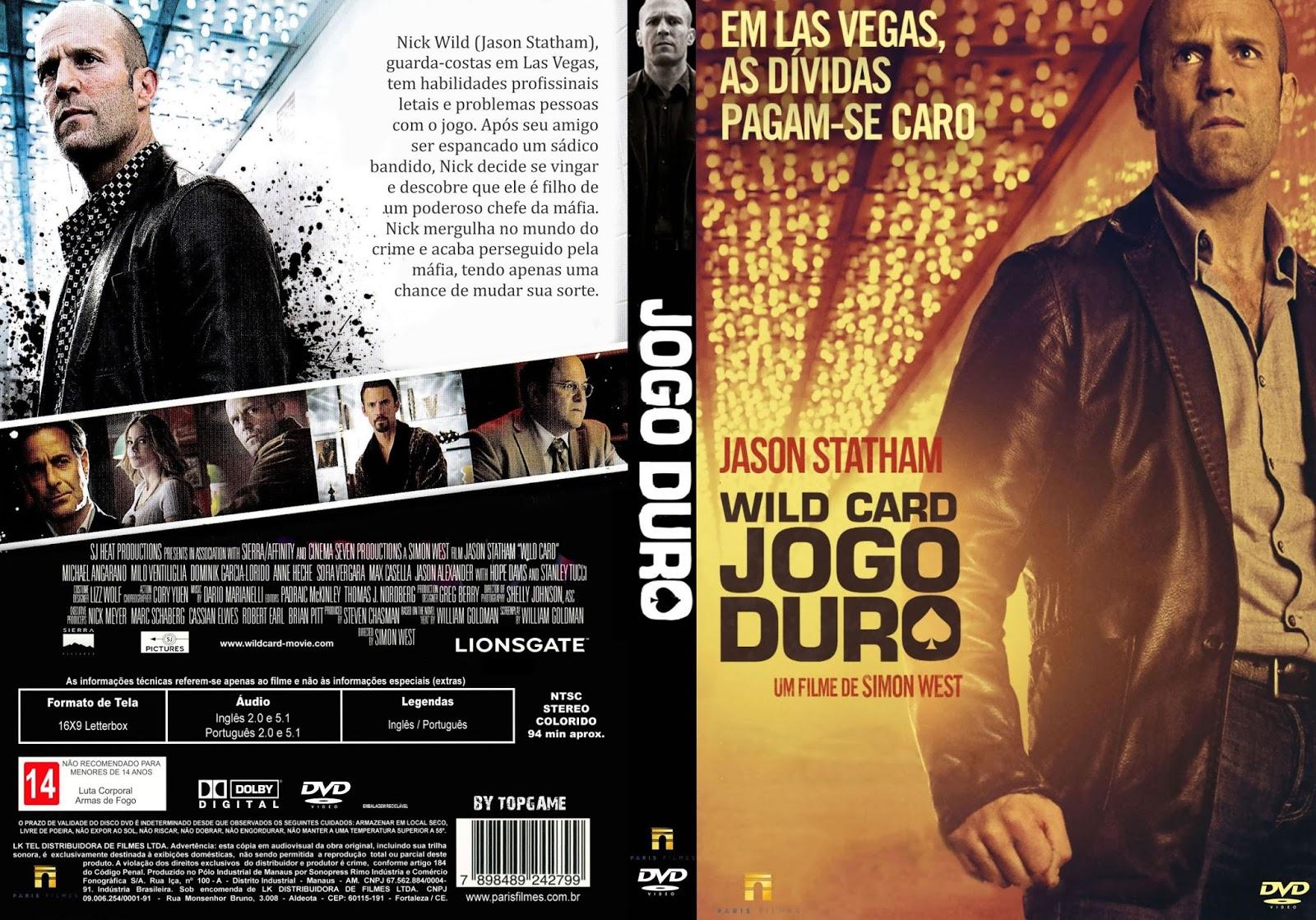 Jogo Duro DVD-R Jogo 2BDuro