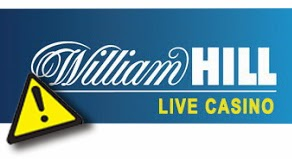 FreebieJeebies William Hill Live Casino prémios atenção cuidado