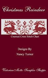 Christmas Reindeer Chart