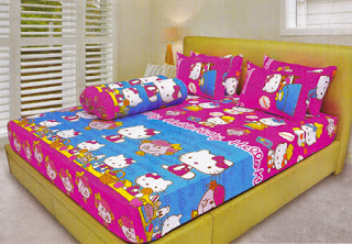 Sprei Lady Rose Hello Kitty Miss Hug