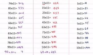 تقنيات الحساب الذهني حلقة 5 ضرب اي عدد مكون من رقمين في العدد 11