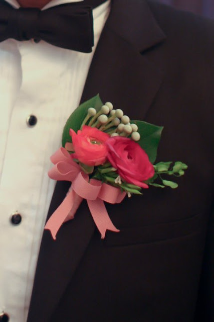 corsage by Lily Sarah
