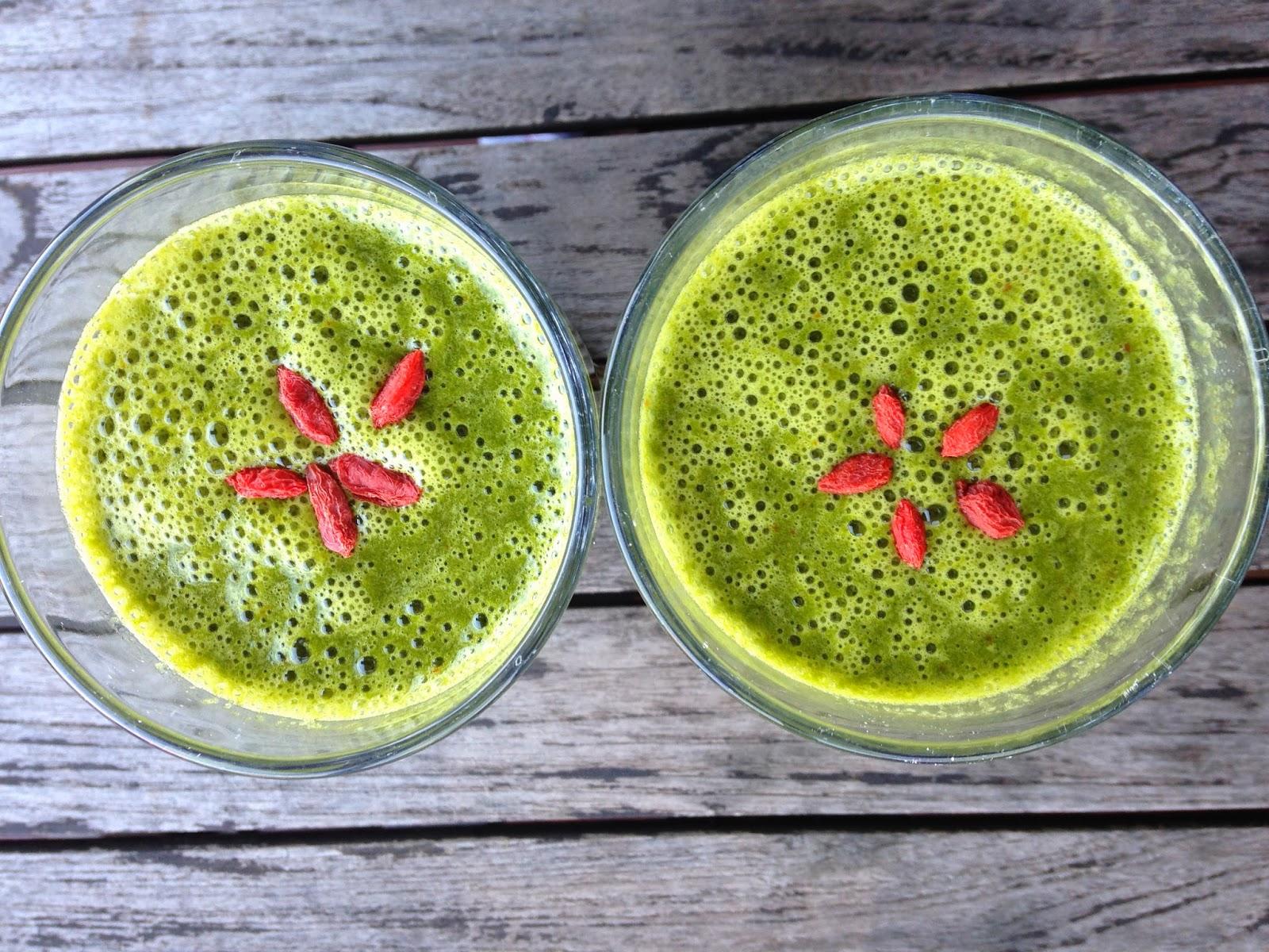 Zielone smoothie - Fit & Detox