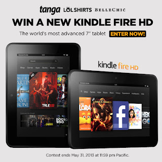 Win a new kindle fire