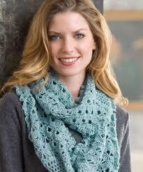 crochet infinity scarves