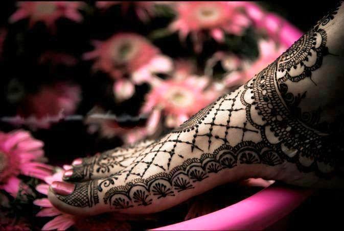 Mehndi For Foot : Latest fashion world: foot mehndi designs 2014