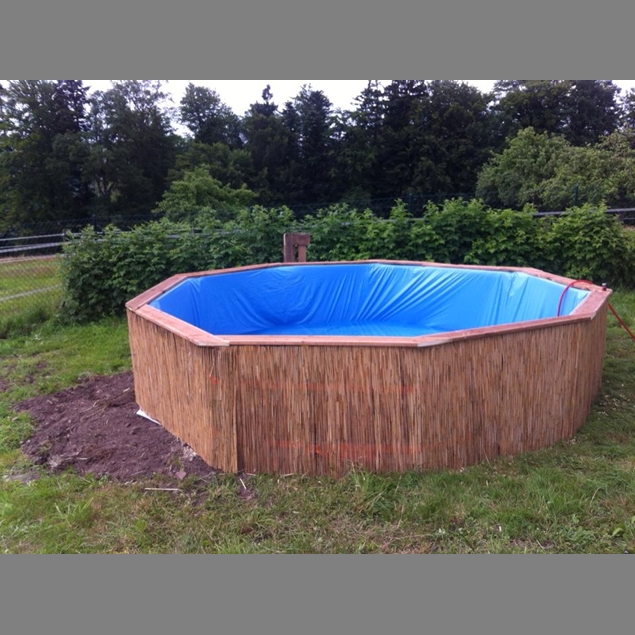 Make your own swimming pool from 9 pallets do it for Build your own swimming pool
