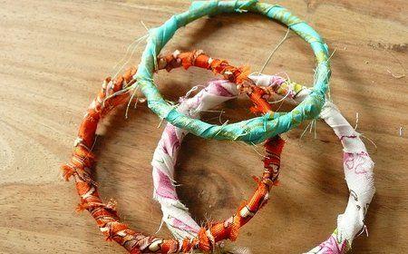 c mo hacer pulseras artesanales con tela y alambre un On manualidades pulseras artesanales