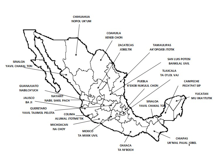 Mapa De America Sin Division Politica