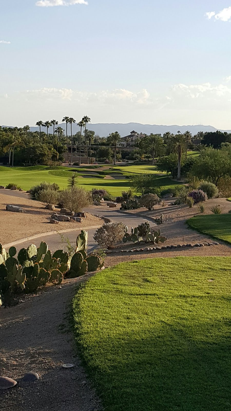 Golfing at the Phoenician in Scottsdale