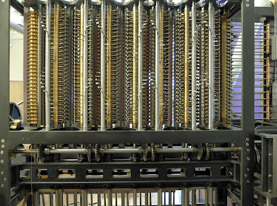 Difference Engine #2 in the Computer History Museum, Mountain View, California