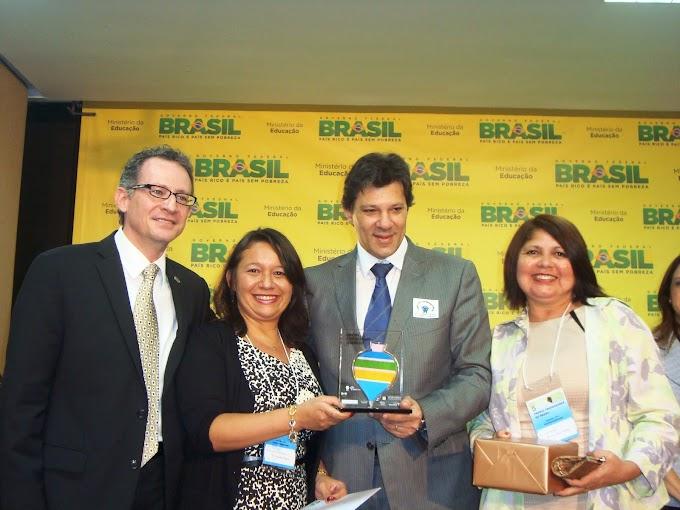 Projeto de educadoras de Escola Estadual ganha Prêmio Professores do Brasil
