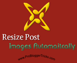 How to resize all posts images automatically in blogger