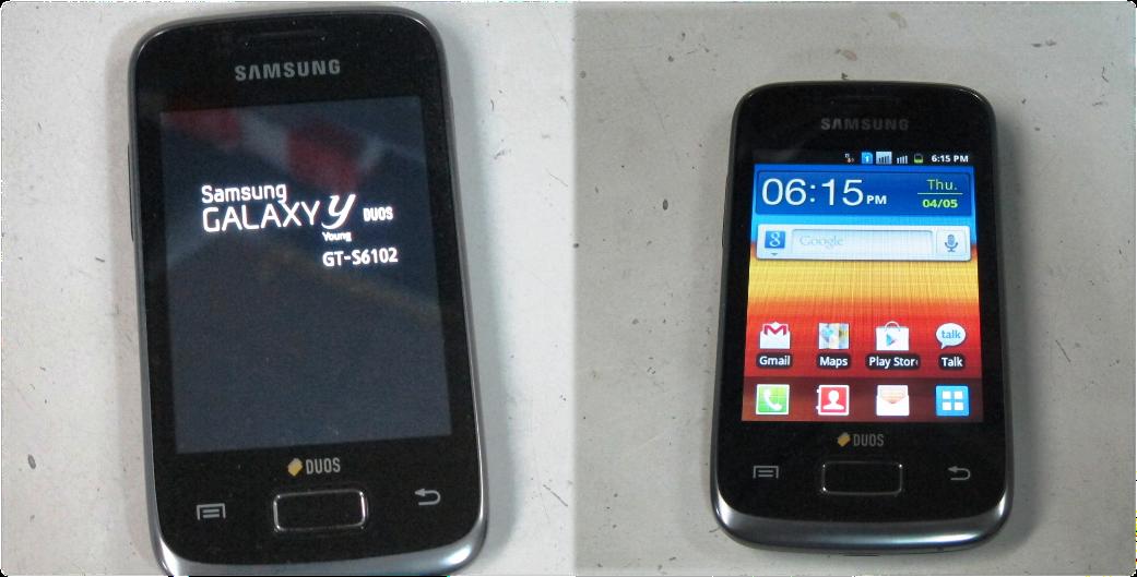 Samsung Galaxy Y Duos GT-S602