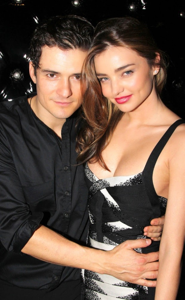 Orlando Bloom will greet Christmas with Miranda Kerr