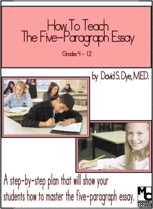 Writing 5 paragraph essay.?
