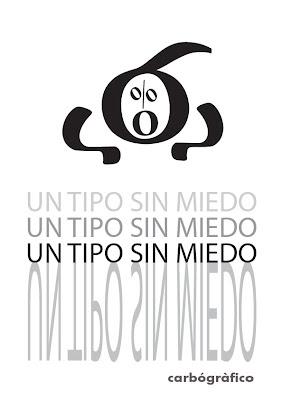 diseño  carbo gráfico con tipografías en sevilla