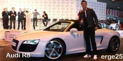 ialah seorang pemain sepak bola terbaik dunia tahun KOLEKSI MOBIL MEWAH CHRISTIANO RONALDO