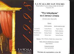 Obras en el recuerdo- The Telephone de Menotti- régie de Raquel Barbieri. 1998