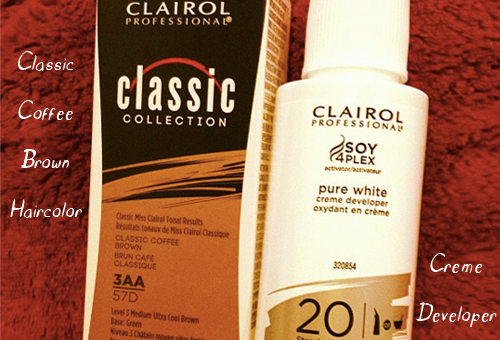Clairol Classic Coffee Brown Permanent Haircolor