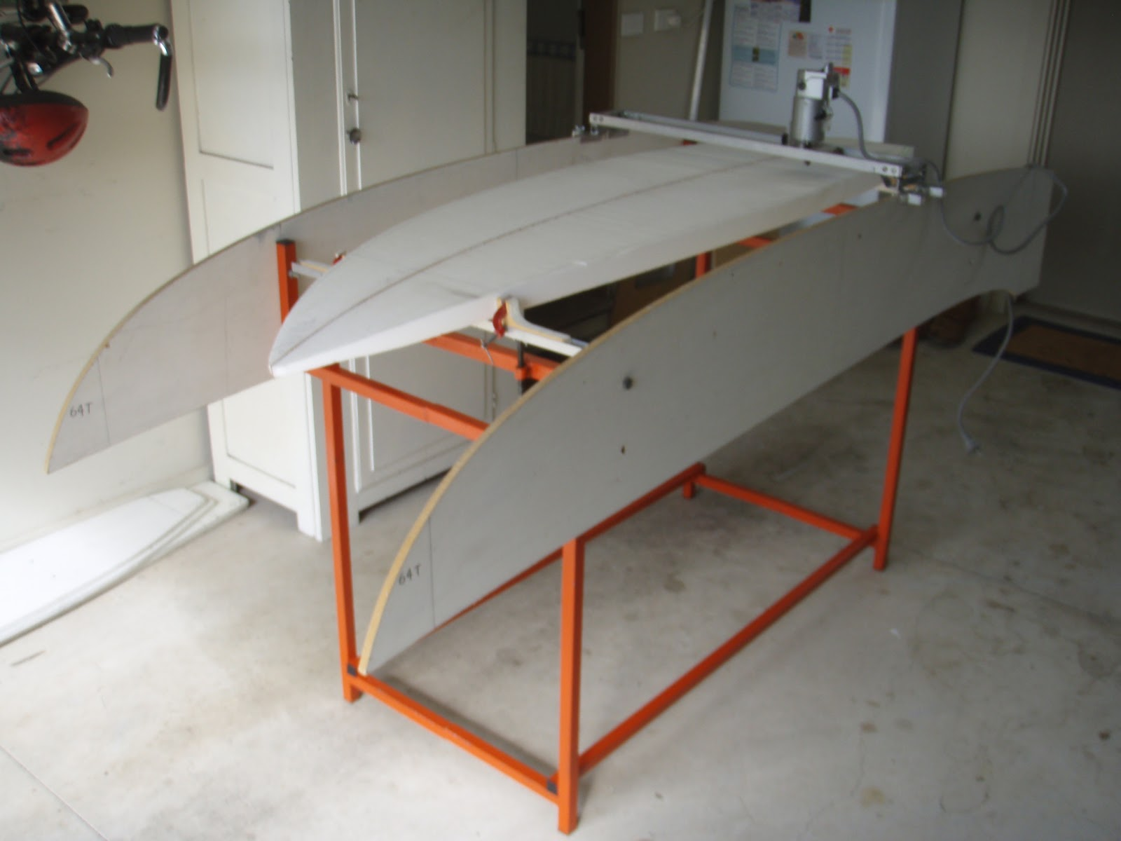 surfboard making machine