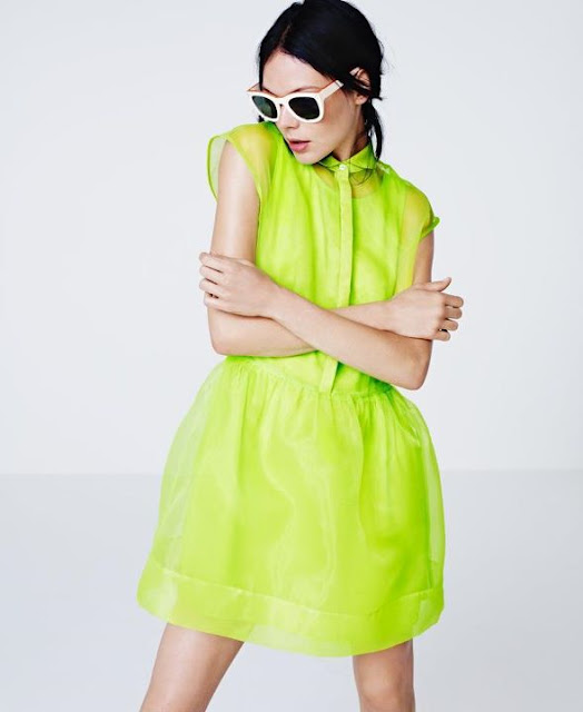 The Style Help Fashion Meteo For Fluo Addict