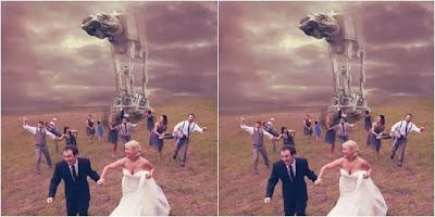 Uniknya Foto Pre Wedding 3 Pasangan Ini