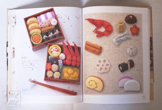 DIY Comiditas de fieltro para niños libros japoneses