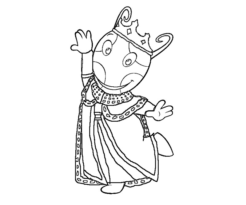 Backyardigans Coloring Pages - intellego