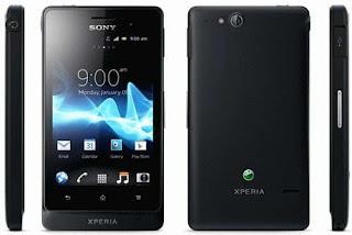 Harga handphone Sony Xperia Go ST27i