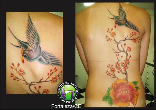 ideas for tattoos nas costas