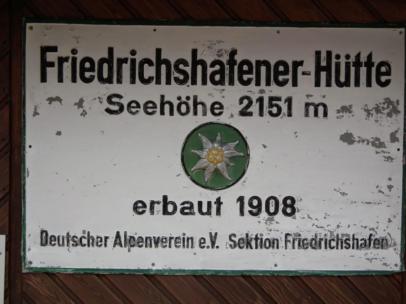 Friederichshafenerhutte